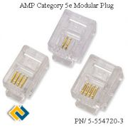 AMP Category 5e Modular Plug