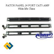 PATCH PANEL 24PORT - CAT5 AMP Nhân liền (China)