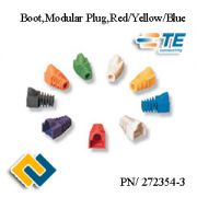 BOOT MODULAR PLUG RED/YELLOW/BLUE